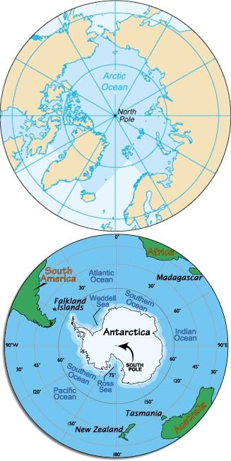 Image result for kutub utara dan selatan